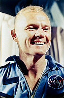 0185057 © Granger - Historical Picture ArchiveJOHN GLENN (1921-2016).   American astronaut and politician. Photographed after his historic three-orbit flight around the earth in the Friendship 7 spacecraft, as part of the Mercury-Atlas 6 Space program, 20 February 1962.