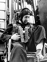 0351217 © Granger - Historical Picture ArchiveKONSTANTIN FEOKTISTOV   (1926-2009). Soviet cosmonaut Konstantin Feoktistov before training at a parachute ejector mechanism, 1964. Full credit: ITAR-TASS Photo Agency / Granger, NYC -- All Rights Reserved.