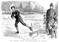 0097915 © Granger - Historical Picture ArchiveLONDON: ICE SKATING, 1886.   Line engraving, 1886.
