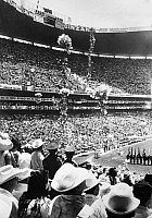 0131700 © Granger - Historical Picture ArchiveWORLD CUP, 1970.   Balloons are released at the opening ceremony of tha 1970 World Cup at Azteca Stadium in Mexico City, 8 June 1970.