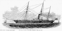 0057150 © Granger - Historical Picture ArchiveYACHTING, 1850.   'The emperor of Russia's steam-yacht,