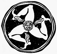 0079788 © Granger - Historical Picture ArchiveGREECE: TRISKELION.   The Greek symbol of victory and progress.