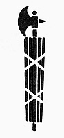 0098316 © Granger - Historical Picture ArchiveSYMBOL: FASCES.   The fasces of the lictor, symbol or unity or fascism.