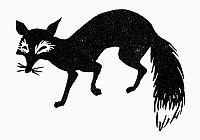 0098659 © Granger - Historical Picture ArchiveSYMBOL: FOX.   Symbol of slyness.