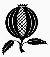 0100513 © Granger - Historical Picture ArchiveSYMBOL: POMEGRANATE.   Semitic symbol of life and fertility.