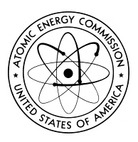 0068163 © Granger - Historical Picture ArchiveATOMIC ENERGY.   Seal used by the U.S. Atomic Energy Commission.