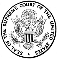 0068513 © Granger - Historical Picture ArchiveU.S. SUPREME COURT SEAL.   Seal of the Supreme Court of the United States. NOTE: SEALS OF THE FEDERAL GOVERNMENT ARE NOT IN THE PUBLIC DOMAIN AND MAY NOT BE USED FOR OTHER THAN OFFICIAL BUSINESS WITHOUT THE SPECIFIC AUTHORIZATION OF THE AGENCY INVOLVED.