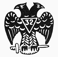 0098000 © Granger - Historical Picture ArchiveSEAL: FREEMASONRY.   Seal of the 32nd Degree Masons.