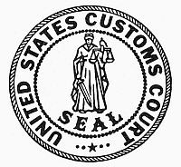 0099030 © Granger - Historical Picture ArchiveU.S. CUSTOMS COURT.   Seal of the United States Customs Court.