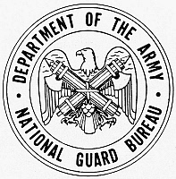 0099087 © Granger - Historical Picture ArchiveNATIONAL GUARD BUREAU.   Seal of the Department of the Army National Guard Bureau.