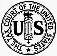 0099103 © Granger - Historical Picture ArchiveSEAL: U.S. TAX COURT.   Seal of the United States Tax Court.