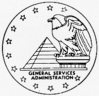0099121 © Granger - Historical Picture ArchiveSEAL: GENERAL SERVICES.   Seal of the U.S. General Services Administration, established to manage federal property and records.