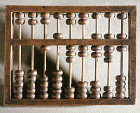 0023848 © Granger - Historical Picture ArchiveCHINESE ABACUS.  19th century. RESTRICTED OUTSIDE US.