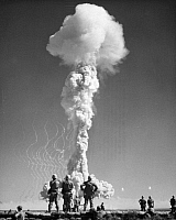0032259 © Granger - Historical Picture ArchiveATOMIC BOMB TEST, 1952.   Nevada.