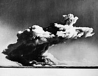 0032260 © Granger - Historical Picture ArchiveATOMIC BOMB TEST.   The explosion from a British atomic bomb in the Montebello Islands in Australia. Photograph, 3 October 1952.