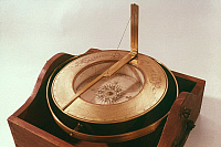 0025180 © Granger - Historical Picture ArchiveAZIMUTH COMPASS, c1720.   Made by J. Fowler.