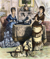 0073709 © Granger - Historical Picture ArchivePHONOGRAPH, c1880.   Wood engraving, c1880.