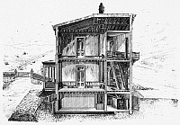 0265107 © Granger - Historical Picture ArchiveHEATING SYSTEM, 1870.   American patent hot air system, 1870.