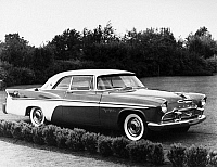 0114717 © Granger - Historical Picture ArchiveDE SOTO FIREFLITE, 1956.   Chrysler Corporation's De Soto Fireflite Sportsman automobile, 1956.