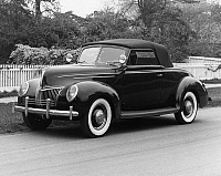 0171703 © Granger - Historical Picture ArchiveFORD COUPE, 1939.   A 1939 Ford Deluxe Coupe. Photograph.