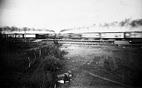 0057241 © Granger - Historical Picture ArchiveRAILROAD COLLISION, 1896.   The collision of two trains at Crush, Texas, 15 September 1896.