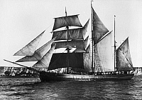 0100060 © Granger - Historical Picture ArchiveBARQUENTINE, 1871.   The English barquentine 'Waterwitch,' built in 1871.