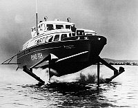 0176342 © Granger - Historical Picture ArchiveHYDROFOIL, 1960.   The Italian hydrofoil 'The Flying Fish,' Photograph, 1960.