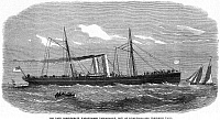0065460 © Granger - Historical Picture ArchiveCONFEDERATE WARSHIP, 1865.   The Confederate war-steamer, Tallahassee: wood engraving, 1865.