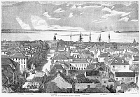 0265191 © Granger - Historical Picture ArchiveCHARLESTON, 1861.   'The City of Charleston, South Carolina.' Engraving, 1861.