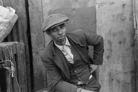 0623071 © Granger - Historical Picture ArchiveCHICAGO: MAN, 1941.   Portrait of an African American man in Chicago, Illinois. Photograph by Edwin Rosskam, July 1941.