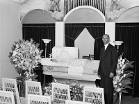 0623178 © Granger - Historical Picture ArchiveCHICAGO: FUNERAL, 1941.   Undertaker before a funeral service, on the South Side of Chicaog, Illinois. Photograph by Russell Lee, April 1941.