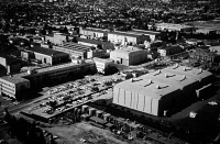 0395095 © Granger - Historical Picture Archive20th CENTURY FOX STUDIOS.   The 20th Century Fox production studios in Los Angeles, California. Photograph, c1965.