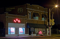 0174615 © Granger - Historical Picture ArchiveMEMPHIS: SUN RECORDS.   Exterior view of the Sun Records Studio in Memphis, Tennessee, opened in 1950. Photograph by Carol M. Highsmith, 2008.