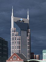 0127311 © Granger - Historical Picture ArchiveNASHVILLE: AT&T BUILDING.   View of the new AT&T Building in Nashville, Tennessee. Photograph by Carol M. Highsmith, 2007.