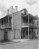 0162884 © Granger - Historical Picture ArchiveNEW ORLEANS: HOUSE.   A view of the house at 910 Orleans Street in New Orleans, Louisiana. Photographed by Frances Benjamin Johnston, c1938.