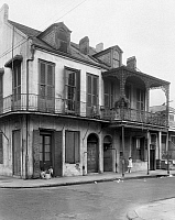 0162898 © Granger - Historical Picture ArchiveNEW ORLEANS: HOUSE.   A view of the house at 1301 Royal Street in New Orleans, Louisiana. Photographed by Frances Benjamin Johnston, c1938.