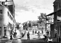 0005481 © Granger - Historical Picture ArchiveNEW YORK CITY: FIVE POINTS.   Lithograph, 1860.