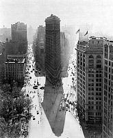 0014291 © Granger - Historical Picture ArchiveNEW YORK: FLATIRON, c1940.   The Flat-Iron Building, c1940.