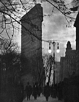 0014292 © Granger - Historical Picture ArchiveNEW YORK: FLATIRON, 1912.   The Flatiron Building in New York City. Photograph by Alvin Langdon Coburn, 1912.