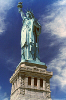 0023754 © Granger - Historical Picture ArchiveSTATUE OF LIBERTY.   The Statue of Liberty.