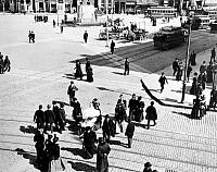 0035776 © Granger - Historical Picture ArchiveNEW YORK: UNION SQUARE.   Photograph, 1898, by Joseph Byron.