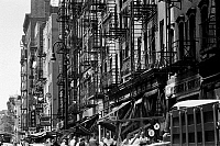 0092271 © Granger - Historical Picture ArchiveNEW YORK: LOWER EAST SIDE.   Canal and Hester Streets, Lower East Side, New York. Photographed c1960.