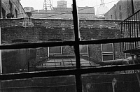 0092310 © Granger - Historical Picture ArchiveNEW YORK: LOWER EAST SIDE.   Tenement buildings on the Lower East Side, photographed from a fire escape, c1960.