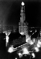 0109606 © Granger - Historical Picture ArchiveWOOLWORTH BUILDING, 1913.   The Woolworth Building, New York City, the world's tallest building at the time of its completion in 1913 until 1930. Photographed at night, c1913.