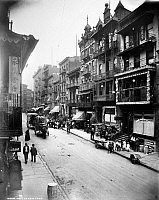 0124798 © Granger - Historical Picture ArchiveNEW YORK: CHINATOWN, c1900.   Mott Street in Chinatown, lower Manhattan, c1900.