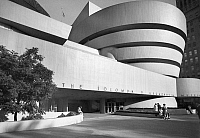 0186666 © Granger - Historical Picture ArchiveNEW YORK: GUGGENHEIM.   The Solomon R. Guggenheim Museum on Fifth Avenue in New York City, designed by Frank Lloyd Wright. Photograph, late 20th century.