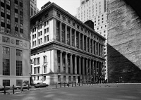 0326478 © Granger - Historical Picture ArchiveNYC: NATIONAL CITY BANK.   The National City Bank at 55 Wall Street in New York City. Photograph, c1970.