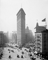 0369964 © Granger - Historical Picture ArchiveNEW YORK CITY, c1905.   The Flatiron Building in New York City. Photograph, c1905.