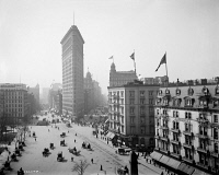 0369965 © Granger - Historical Picture ArchiveNEW YORK CITY, c1905.   The Flatiron Building in New York City. Photograph, c1905.