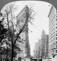 0369968 © Granger - Historical Picture ArchiveNEW YORK CITY, c1917.   The Flatiron Building under contruction in New York City. Photograph, c1917.